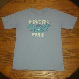Monster Mode Shirt Disney Parks Shirt Inc XL youth